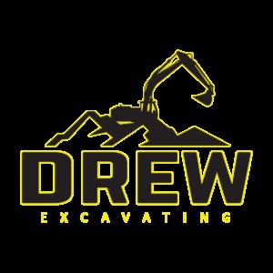 Drew Excavating Logo